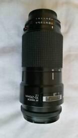 Nikon D7100 + 17-50 f2.8 tamron + 70-210 nikkor lenses