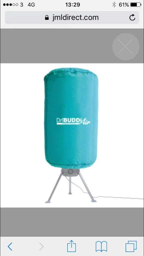 Dribuddi clothes dryer like standing tumble dryer
