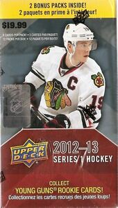 2012-2013 Upper Deck Series 1 Hockey - 12-Pack Box