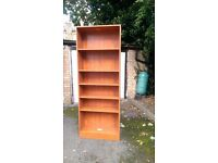 Teak Veneer Bookcase For Sale