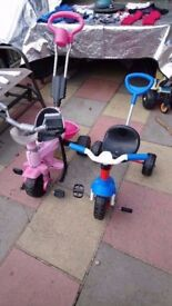 Kids trike, blue one now sold