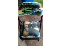 Rare 2007 Summer Slam collectible ring side chair. Wrestling WWE