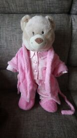 BEAR FACTORY BEAR + LOTS OF CLOTHES £20 ono