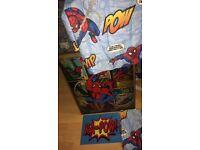 Spider-Man bedroom curtains