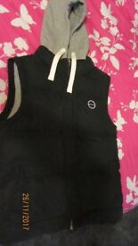 Animal Gilet. Navy & Grey. New without tags. size large.