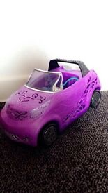 Monster high Paris Car!!