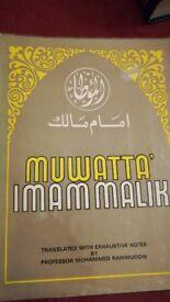 Al Muwatta of Imam Malik in English Hard Cover