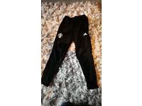 Adidas Manchetsre United Training Pants, Age 9/10, 2018 version Brand new RRP £35 Black Football