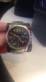 Men's used armarni watch