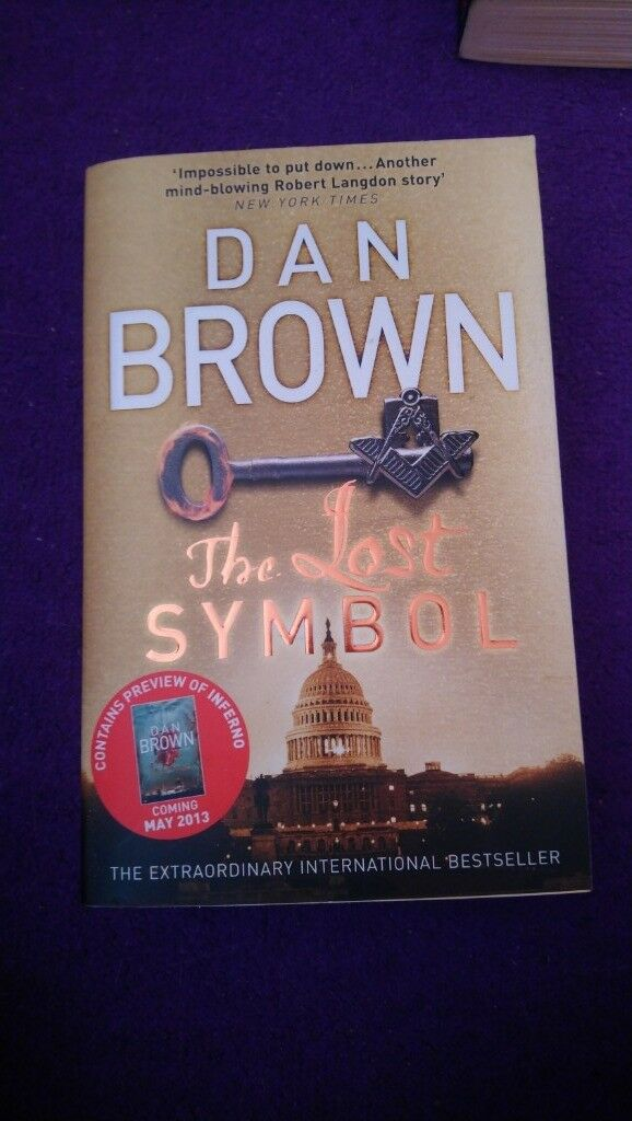Dan Brown Novel The Lost Symbol In Sunderland Tyne And Wear