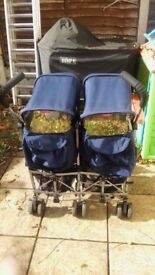 Maclaren Twin Truimp Buggy
