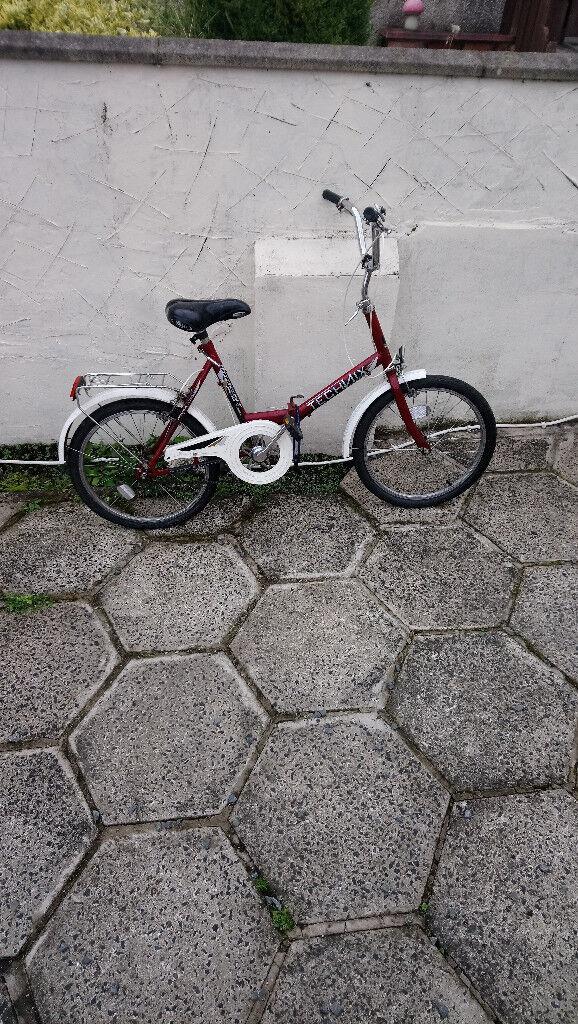 A Mint Techmix Folding Bike Needing Nothing All Working Like new £80....