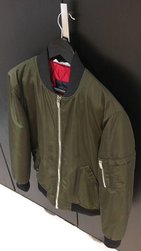 8b7f21da Zara Padded Bomber Jacket   in Ealing, London   Gumtree