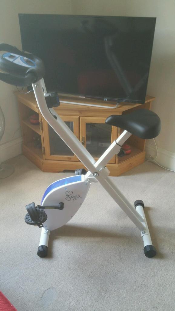Davina mccall exercise bike. Fitness hardly used | in ...
