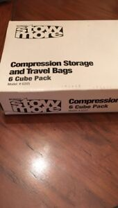 Compressed Storage and Travel Bags 6 Cube Pack Box