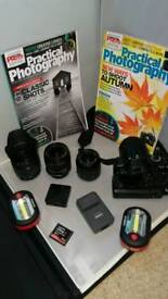 EOS400D with plenty of extras, free bag and Photoshop elements