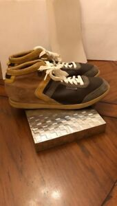 Diesel Suede Leather Central Park Edition Shoes Size 10
