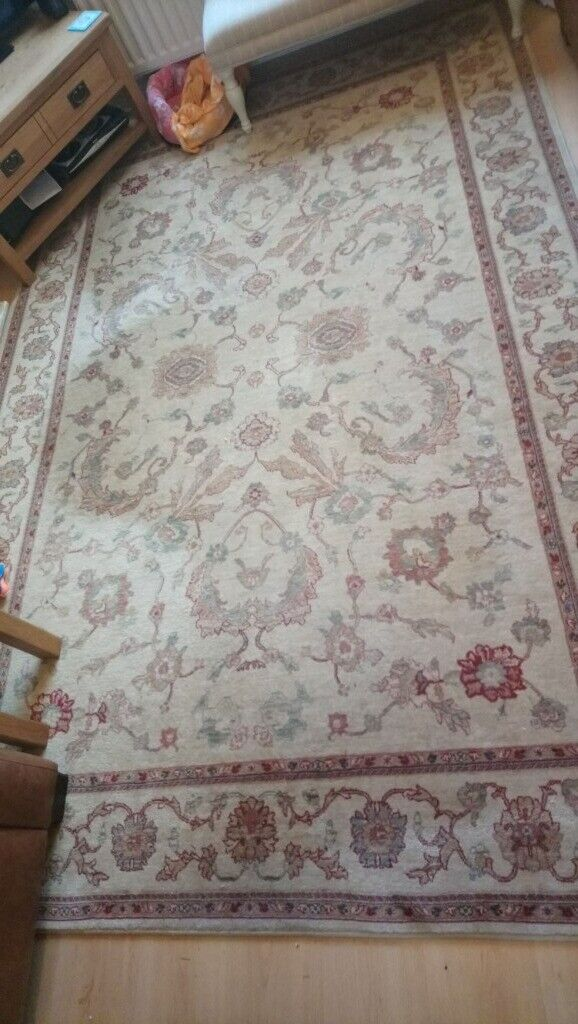 Large Wool Rug Made By G H Frith Ltd