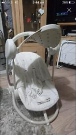 Mamas and papas starlite baby swing