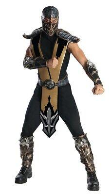 Herren Erwachsene Mortal Kombat Deluxe Geformt Panzerfarben - Herren Mortal Kombat Kostüm