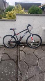 Rockrider 510 mens hardtail bike 26inch wheel not long new 100% working £95