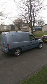 Vauxhall combo full years mot low miles