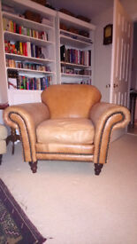 Rochester Vintage leather arm chair