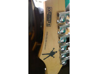 Dean MAB 1 Speed of light electric guitar, metal players dream, but very versatile set of EMG's