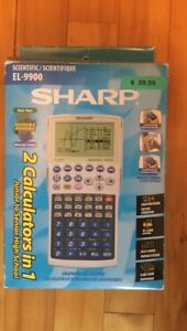 Calculatrice scientifique graphique Sharp EL-9900