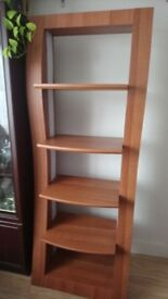 Bookcase with lighting for sale.