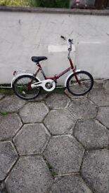 A Mint Techmix Folding Bike Needing Nothing All Working £70....
