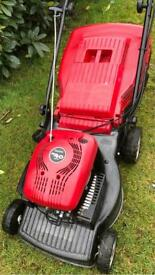 Petrol mower Mountfield like NEW 1st to see will buy solid steel deck lawnmower