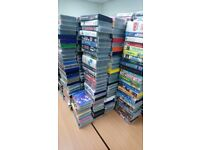 Boxes of vhs for sale. £1 per box