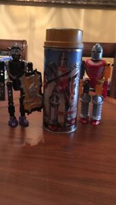 Lego Tin Model 8704 with Two Knights
