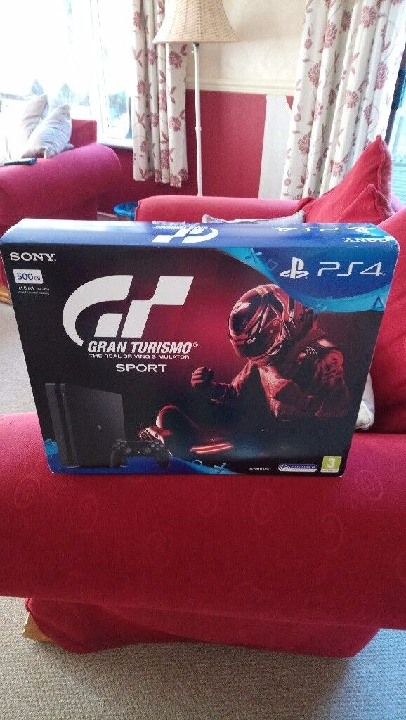 Playstation 4 with GTA Sport