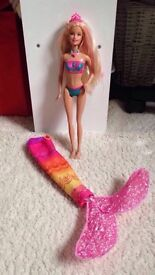 Barbie mermaid/surfer doll!!