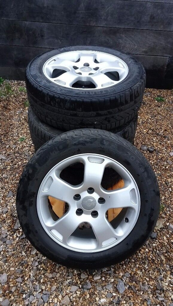 4X AUDI - 16 inch 5 Spoke Alloys with ContiWinter Tyres