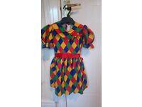 Fancy dress girls dance doll costume age 4-5
