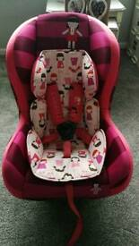 Cosatto reclining car seat groups 1 and 2