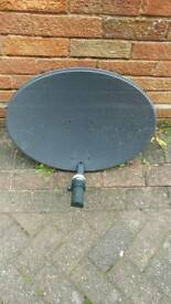 Sky dish satellite freesat single LNB CANT DELIVER