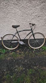 Lovely vintage real cafe bicycle hybrid type good tyres and brakes £60