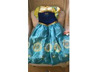 Disney Frozen Fever Dress age 7-8 years