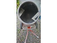 Belle Minimix 150 240v Mini Mix Cement Concrete Mixer Includes Stand