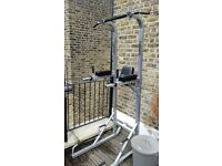 Pull up station, Dips, Full body workout, Fitness, Excellent condition, light use, 2m15 height