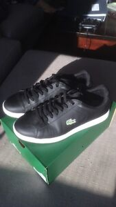 Mint condition Lacoste Carnaby Evo leather sneakers - size 9.5