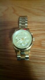 Michael Kors Watch. Gold watch. Mint condition. No scrapes . £50 ono