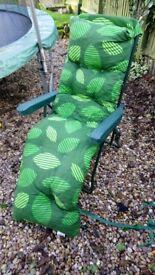2 x garden loungers