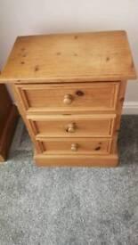 2 Pine drawers