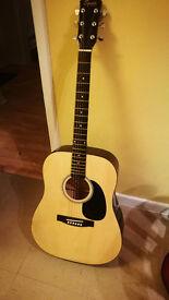 Fender Squier Acoustic Steel String Guitar