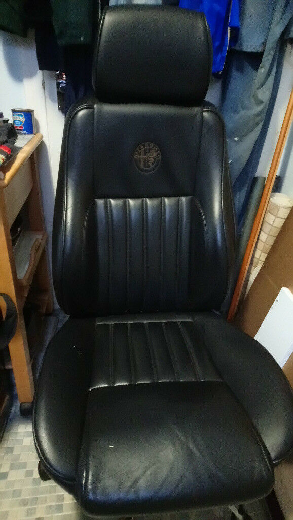 Alfa Romeo 156 Leather Office Chair Conversion